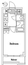 ルーブル新宿西落合六番館[106号室]の間取り