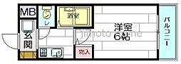 ハイツヨシダA棟[1階]の間取り