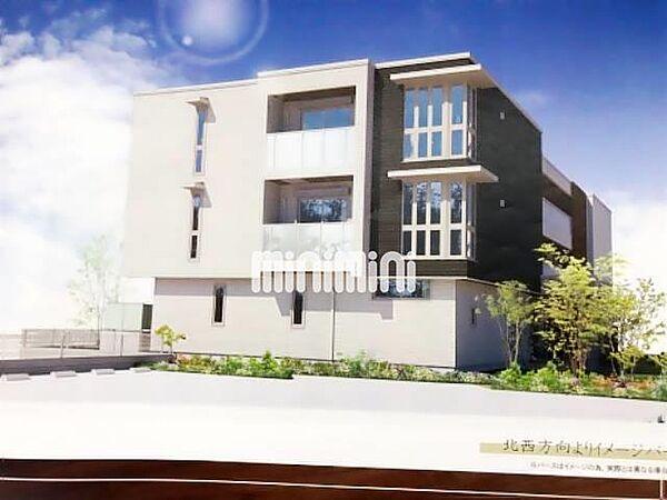 新築 仮称 スプリングビレッジ[3階]の外観