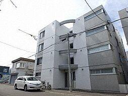 北海道札幌市西区二十四軒四条5丁目の賃貸マンションの外観