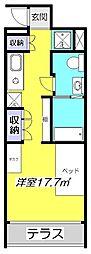 リブロフロール[2階]の間取り