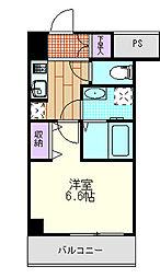 埼玉県さいたま市大宮区吉敷町4丁目の賃貸マンションの間取り