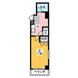 インペリアルコート両替町[5階]の間取り