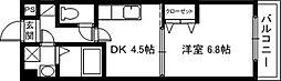 エンゼルプラザレイクフロント[6階]の間取り