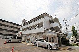 広島県広島市安佐南区山本2丁目の賃貸マンションの外観