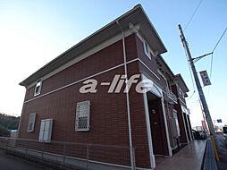 兵庫県西宮市山口町中野の賃貸アパートの外観
