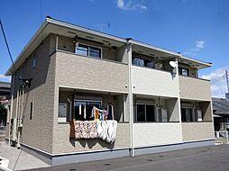 愛知県岡崎市真宮町の賃貸アパートの外観