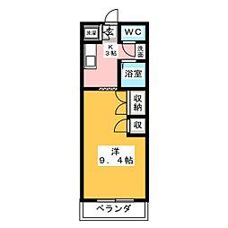 エム・ステージ神尾[1階]の間取り
