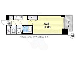 名古屋市営桜通線 丸の内駅 徒歩6分の賃貸マンション 10階1Kの間取り
