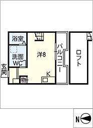 仮)新川町II 新築アパート[3階]の間取り