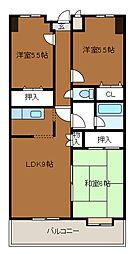 第3SKビル[2階]の間取り