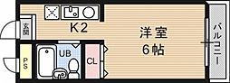 OTOWAマンション[302号室号室]の間取り