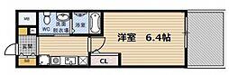 エスリード野田阪神駅前[5階]の間取り