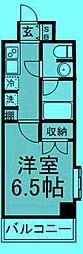 東京都北区浮間2丁目の賃貸マンションの間取り