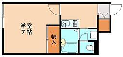 レオネクストTOBAII[1階]の間取り