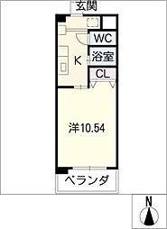 T'グランパス[2階]の間取り