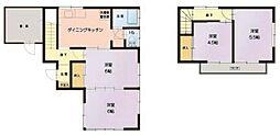 [一戸建] 埼玉県さいたま市中央区上落合7丁目 の賃貸【/】の間取り