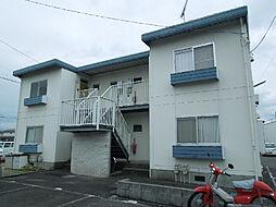 愛媛県松山市北久米町の賃貸アパートの外観