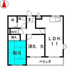 第2長澤ビル[3階]の間取り