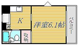 東京都江東区南砂6丁目の賃貸アパートの間取り