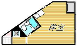 TOP三軒茶屋第4[5階]の間取り