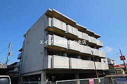 岡山県岡山市中区中井4丁目の賃貸マンションの外観