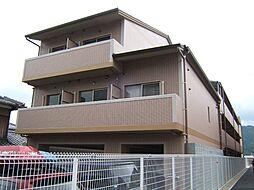 京都府京都市山科区小山鎮守町の賃貸マンションの外観