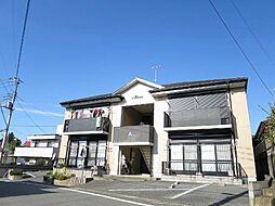 静岡県伊豆の国市三福の賃貸アパートの外観