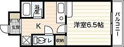 スカイNフルタ[8階]の間取り