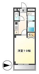 本州ビル3[6階]の間取り