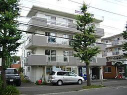 北海道札幌市豊平区月寒東三条15丁目の賃貸マンションの外観