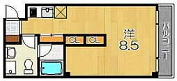pieni pesa[4階]の間取り