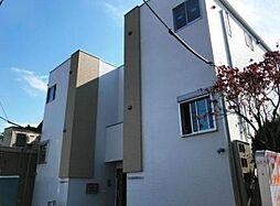 埼玉県川口市北園町の賃貸アパートの外観