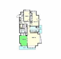 北海道札幌市中央区南五条西21丁目の賃貸マンションの間取り