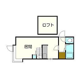 サンコート新札幌[205号室]の間取り