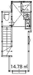 サークルハウス高島平[2階]の間取り