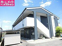 愛知県名古屋市緑区桶狭間西の賃貸マンションの外観