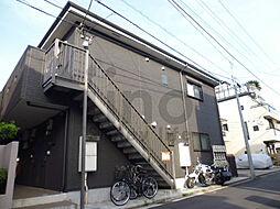 神奈川県横須賀市安浦町2丁目の賃貸アパートの外観