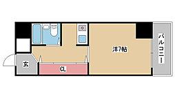 兵庫県神戸市東灘区魚崎北町5丁目の賃貸マンションの間取り