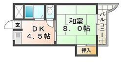 光豊マンション[3階]の間取り