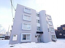 北海道札幌市西区発寒十条1丁目の賃貸マンションの外観