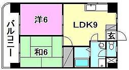 第五中村ビル[501 号室号室]の間取り