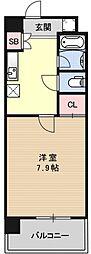 プラネシア星の子京都御所[705号室号室]の間取り