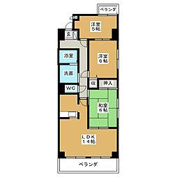 フレンドビル21[2階]の間取り