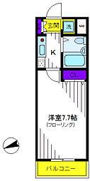 マイステージ立川[1階]の間取り