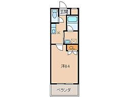 ル・マンA2番館[2階]の間取り
