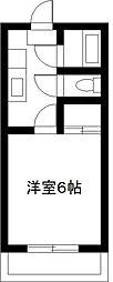 宮崎県宮崎市神宮西2丁目の賃貸アパートの間取り