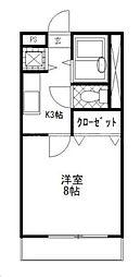 神奈川県横浜市旭区東希望が丘の賃貸マンションの間取り