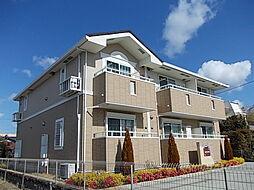 愛知県名古屋市守山区向台3丁目の賃貸アパートの外観