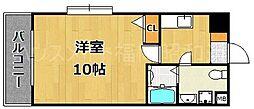 大名本田ビル[5階]の間取り